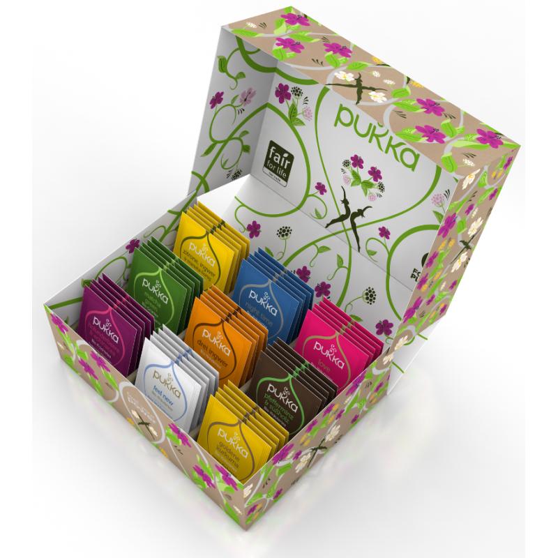 Pukka Selection Box Organic Tea 2020 french (45 bags)