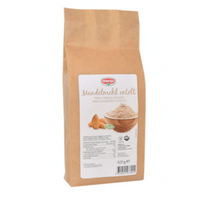 Morga de la farine d'amande, déshuilée, sans gluten biologique (500g)