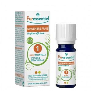 Puressentiel Fresh Ginger Organic 1 Essential Oil (5ml)