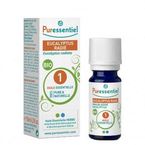 Puressentiel Peppermint Eucalyptus Organic 1 Essential Oil (10ml)