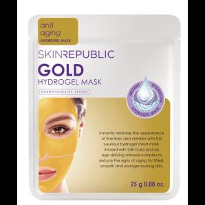 Skin Republic le masque facial à l'hydrogel Gold (25g)