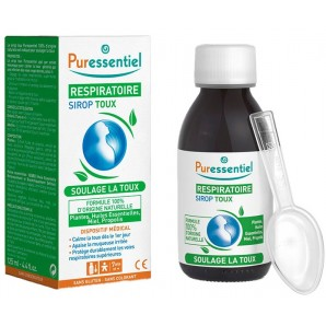 Puressentiel RESPIRATORY Cough Syrup (125ml)