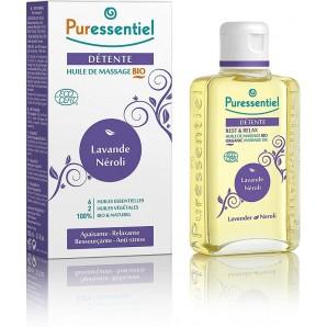 Puressentiel REST & RELAX Organic Massage Oil (100ml)