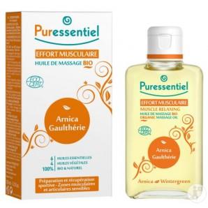 Puressentiel MUSCLE RELAXING Organic Massage Oil (100ml)