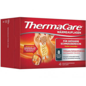 Thermacare larger areas of pain (4 pcs)