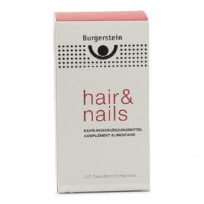 Burgerstein Hair & Nails capsules (240 pcs)
