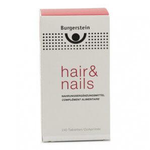 Burgerstein Hair & Nails capsules (240 pièces)