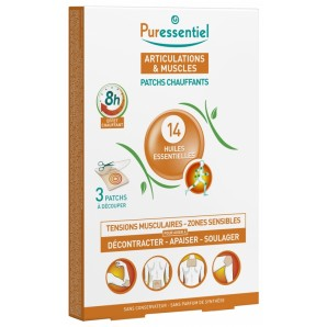 Puressentiel ARTICULATIONS & MUSCLES Patchs Chauffants (3 pièces)