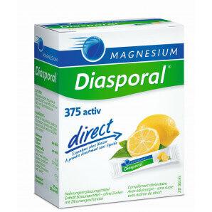 Diasporal Magnesium Activ direct Zitrone (20 Stk)