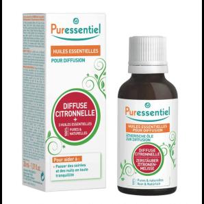 Puressentiel Duftmischung Zitronell + 3 ätherische Öle (30ml)