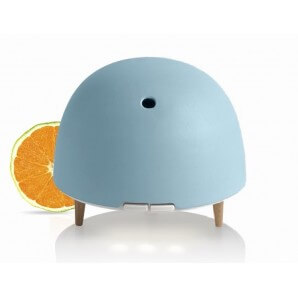 Puressentiel Christmas Box Ultrasonic Diffuser Humidifier SPOUTNIK & Sweet Orange Organic Essential