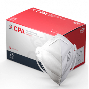 FLAWA CPA respiratory protection mask FFP2 Standard (25 pieces)