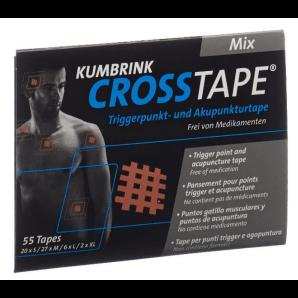 CROSSTAPE Schmerz- und Akupunkturtape Mix (55 Stk)
