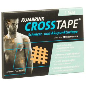 CROSSTAPE pain and acupuncture tape size L (120 pieces)