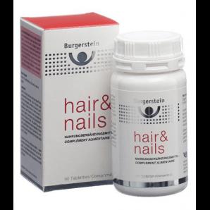 Burgerstein Hair & Nails capsules (90 pièces)