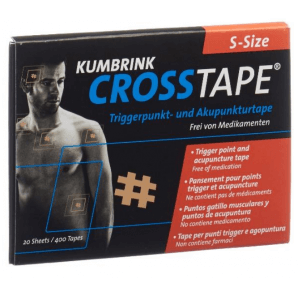 CROSSTAPE pain and acupuncture tape size S (400 pieces)