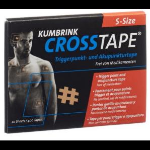 CROSSTAPE Schmerz- und Akupunkturtape Grösse S (400 Stk)