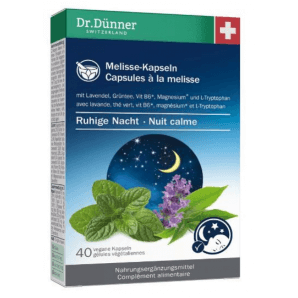 Dr. Dünner Melisse Kapseln ruhige Nacht (40 Stk)