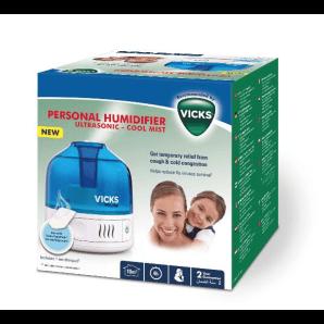 VICKS Ultrasonic Cold Air Ultrasonic Humidifier (1 pc)