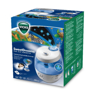VICKS SweetDreams 2-in-1 ultrasonic humidifier (1 pc)