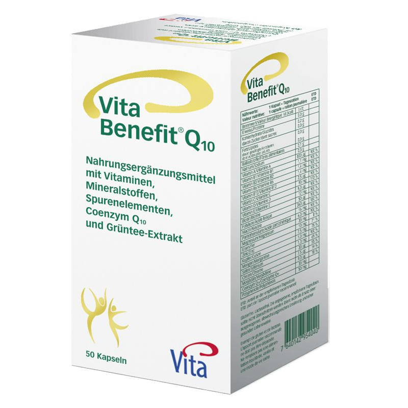 Vita Benefit Q10 (50 Kapseln)