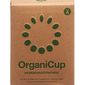 OrganiCup Coupe Menstruelle Taille A Allemand (1 pièce)