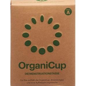 OrganiCup Menstruationstasse Größe A Deutsch (1 Stk)
