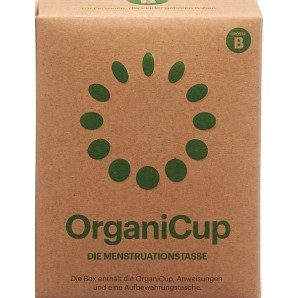 OrganiCup Menstrual Cup Size B German (1 pc)
