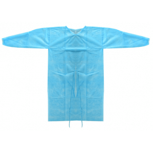 Vasano protective gown blue 25g/m2 (1 piece)