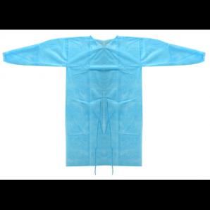 Vasano Schutzkittel blau 25g/m2 (1 Stk)