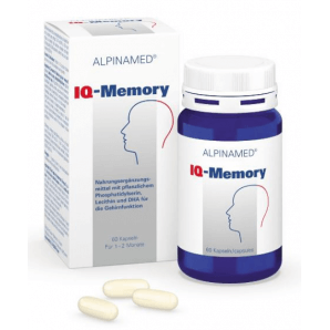 Alpinamed IQ-Memory capsules (60 pieces)