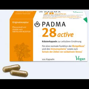 PADMA 28 active Kapseln (100 Stk)