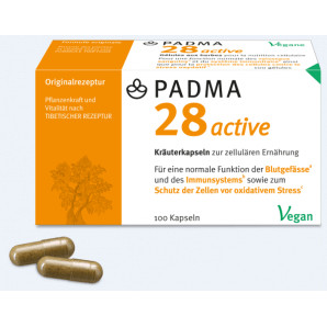 PADMA 28 capsules actives (100 pièces)