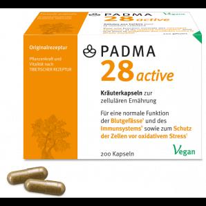 PADMA 28 active Kapseln (200 Stk)