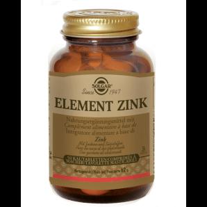 Solgar Element Zink Kautablatten (50 Stk)