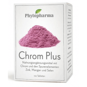 Phytopharma Chrom Plus tablets (100 pcs)