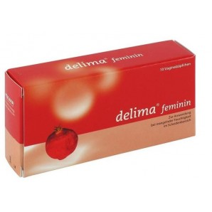 delima feminine vaginal suppositories (10 pieces)