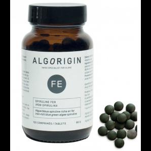 Algorigin iron spirulina tablets (120 pieces)