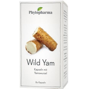 Phytopharma Wild Yam capsules 400mg (80 pieces)