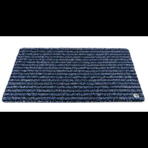 Ha-Ra indoor doormat Purus Soft Premium black-blue (90x65cm)