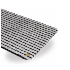 Ha-Ra indoor doormat Purus Soft Premium black- ice gray (60x40cm)