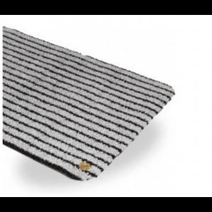 Ha-Ra Innen-Fußmatte Purus Soft Premium schwarz-eisgrau (90x200cm)