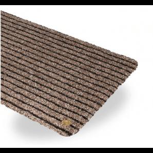 Ha-Ra indoor doormat Purus Soft Premium black-brown (90x200cm)