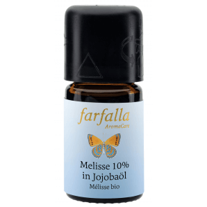 Farfalla Melisse 10% In Jojobaöl Grand Cru Bio (5ml)