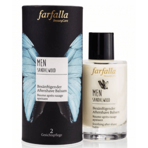 Farfalla Baume Après-Rasage Apaisant Bois De Santal Hommes (100ml)