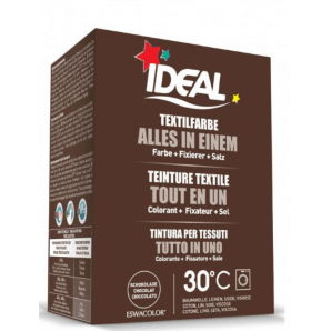 IDEAL Textile Dye All in One Chocolate (230g)