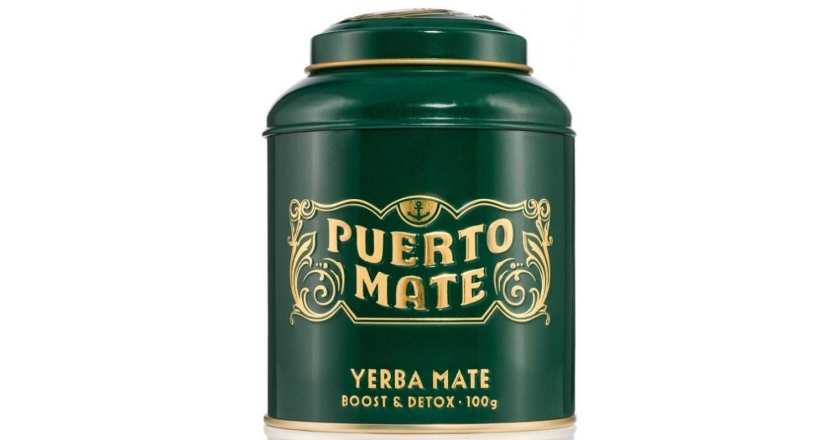 Puerto Mate tea leaves Yerba Mate can (100g)