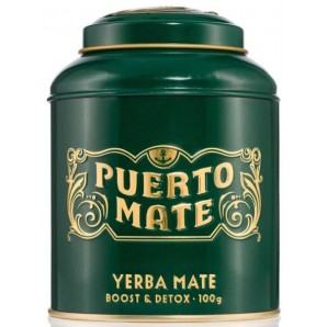 Puerto Mate tea leaves Yerba Mate can (100g)