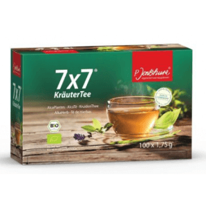 Jentschura 7x7 herbal tea (100 pieces)