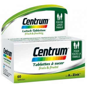 Centrum Sucking Tablets Fresh & Fruity (60 pieces)